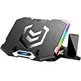 ICE COOREL RGB Laptop Cooling Pad 15.6-17.3 Inch, Gaming...