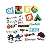 Laptop Stickers Pack for Developer [50PCS] Programming...