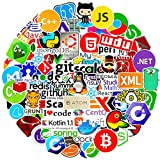 Laptop Stickers for Developer (108PCS)Programming Stickers...