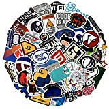 Laptop Stickers for Developer (50PCS)- Programming Stickers...