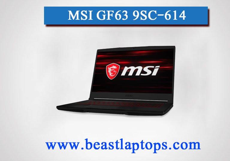 MSI GF63 9SC-614